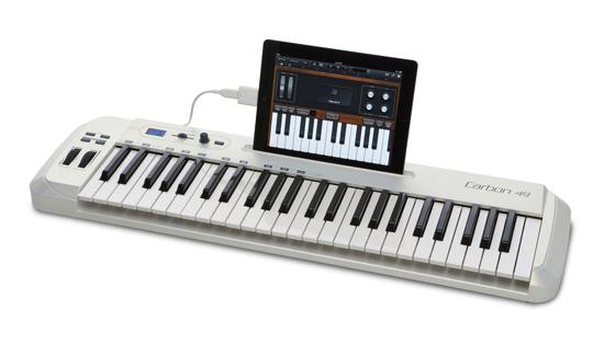 Carbon 49, un teclado MIDI para iPad