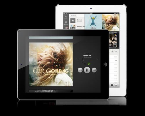 Finalmente Spotify lanzó su app para iPad
