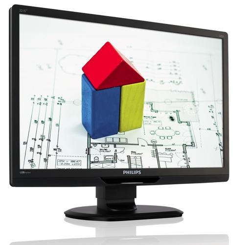 Philips presenta una pantalla que funciona únicamente con un cable USB
