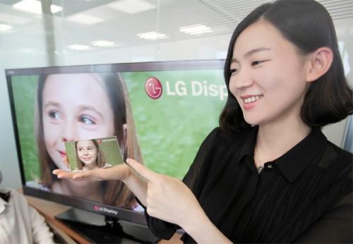 LG presentó su primer display Full HD para smartphones