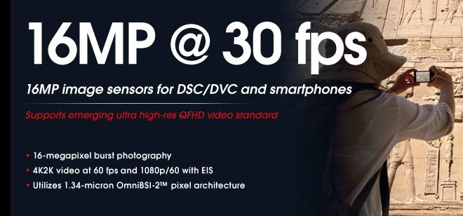 Omnivisión quiere llevar la grabación 4K a los smartphones