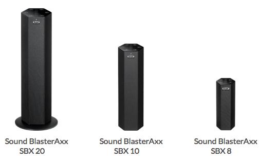 Sound BlasterAxx, altavoz central con micrófono de Creative
