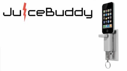 JuiceBuddy, un minicargador para iPhone