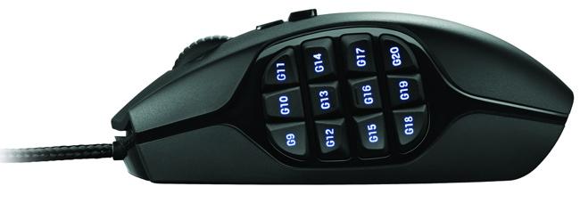 Logitech G600 ¿Te gustan los botones?