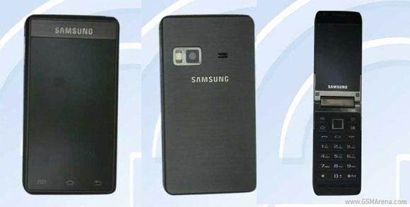 GT-B9120, el smartphone clamshell de Samsung