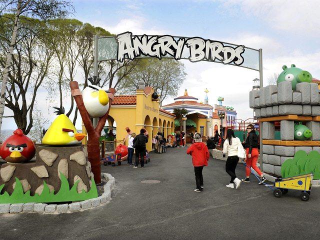 Nace un parque temático de los Angry Birds