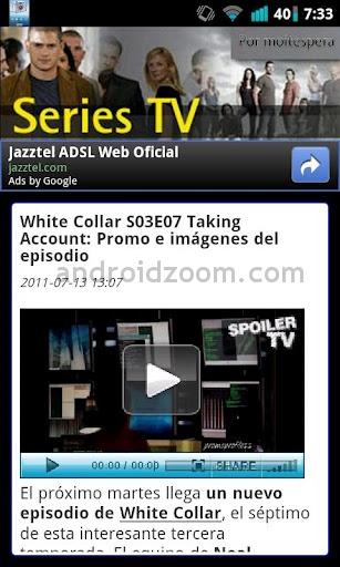 Ver películas y series online desde Android