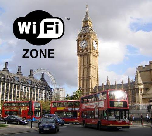 Londres ofrece WiFi gratis durante las olimpiadas