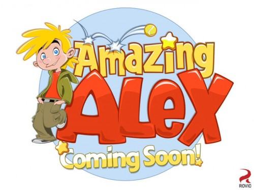 Amazing Alex, de Rovio, debutará mañana