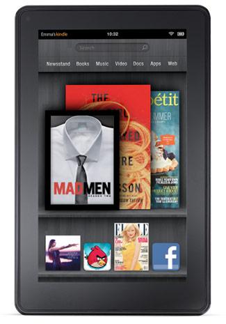 Amazon podría presentar hasta tres versiones del próximo Kindle Fire 2