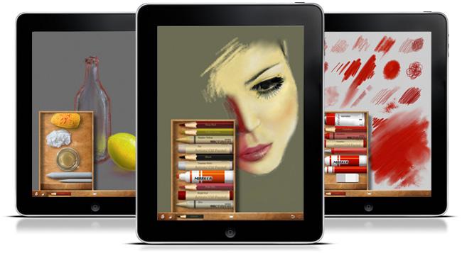 Art set una app para artistas del ipad tecnoweb for App para disenar muebles ipad