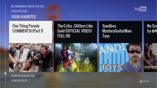PlayStation 3 ya tiene app nativa de YouTube