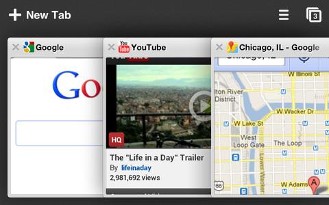 Google actualiza Chrome para iOS con soporte para redes sociales