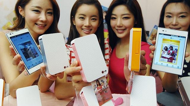 LG lanza una impresora para smartphones