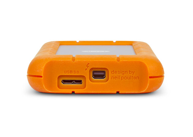 LaCie Rugged con Thunderbolt y USB 3.0