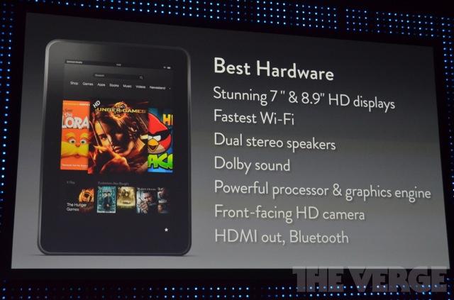 Kindle Fire HD, Amazon está lista para la batalla