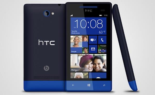Nuevos HTC 8S y 8X con Windows Phone 8