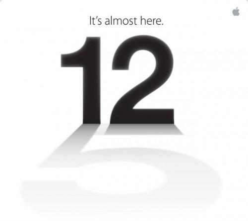 iPhone 5, preparado para salir a escena el 12 de septiembre