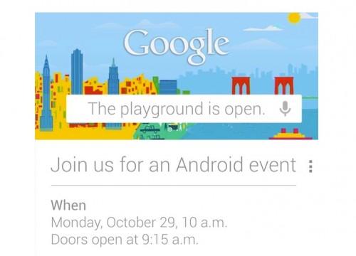 Google canceló el evento Android previsto para hoy