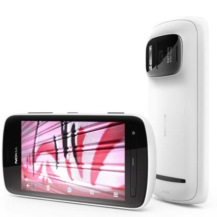 Nokia lanzó una actualización de software para 808 PureView
