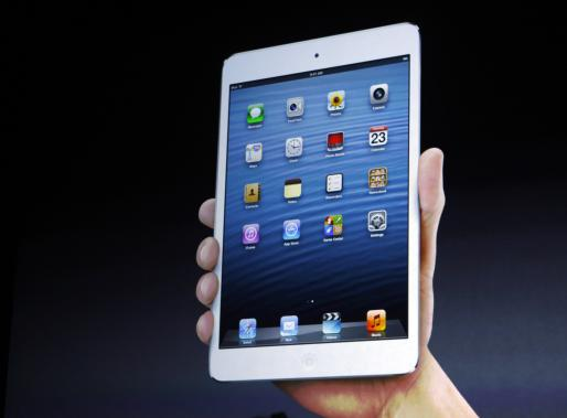 El iPad Mini aumentará las ventas de tablets pequeñas