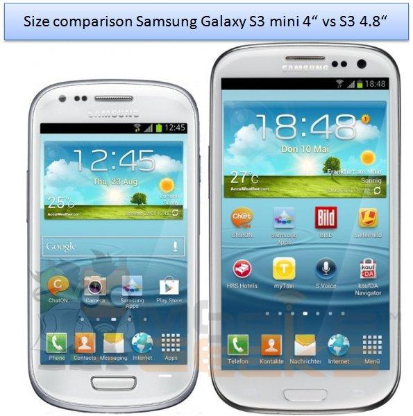 Samsung lanzará el Samsung Galaxy S III Mini