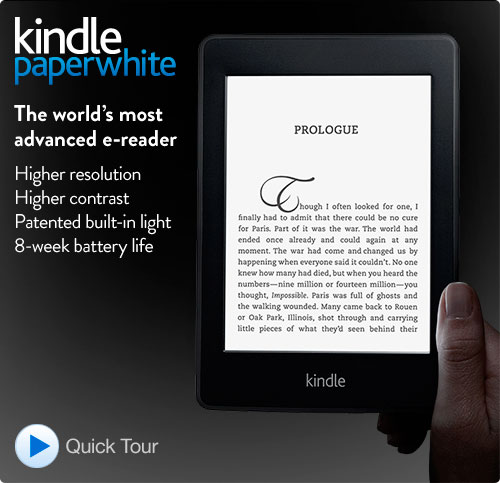 Kindle Paperwhite, en España en noviembre