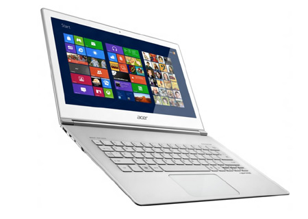 Acer Aspire S7, ultrabook táctil con Windows 8