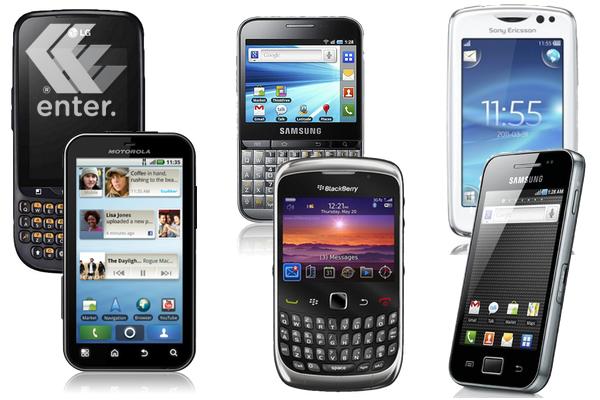 Se extienden los smartphones accesibles
