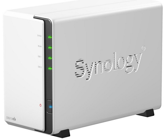 Synology DiskStation DS213air, un NAS con WiFi