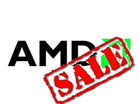 """AMD coloca el cartel de """"SE VENDE"""" entre otras cosas"""