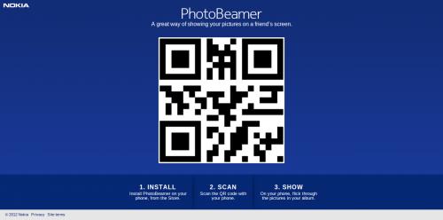 Nokia relanza PhotoBeamer, de Scalado