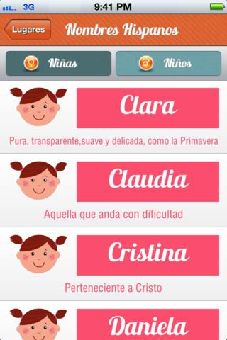 Apps para elegir nombre para niños