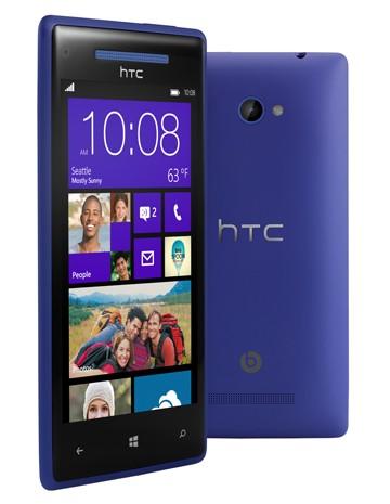 HTC 8X, el primer smartphone con Windows Phone 8
