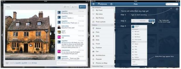 Padgram, consulta Instagram en tu iPad
