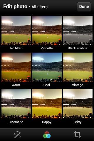 Twitter ya permite filtros en las fotografías