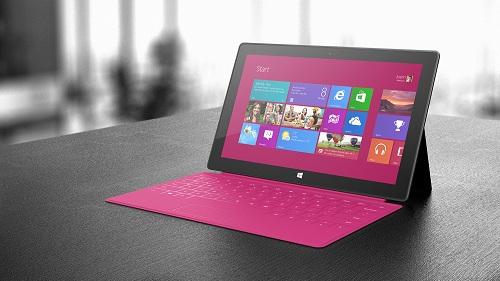 Surface Pro de 64 GB tendrá sólo 23 GB de espacio usable