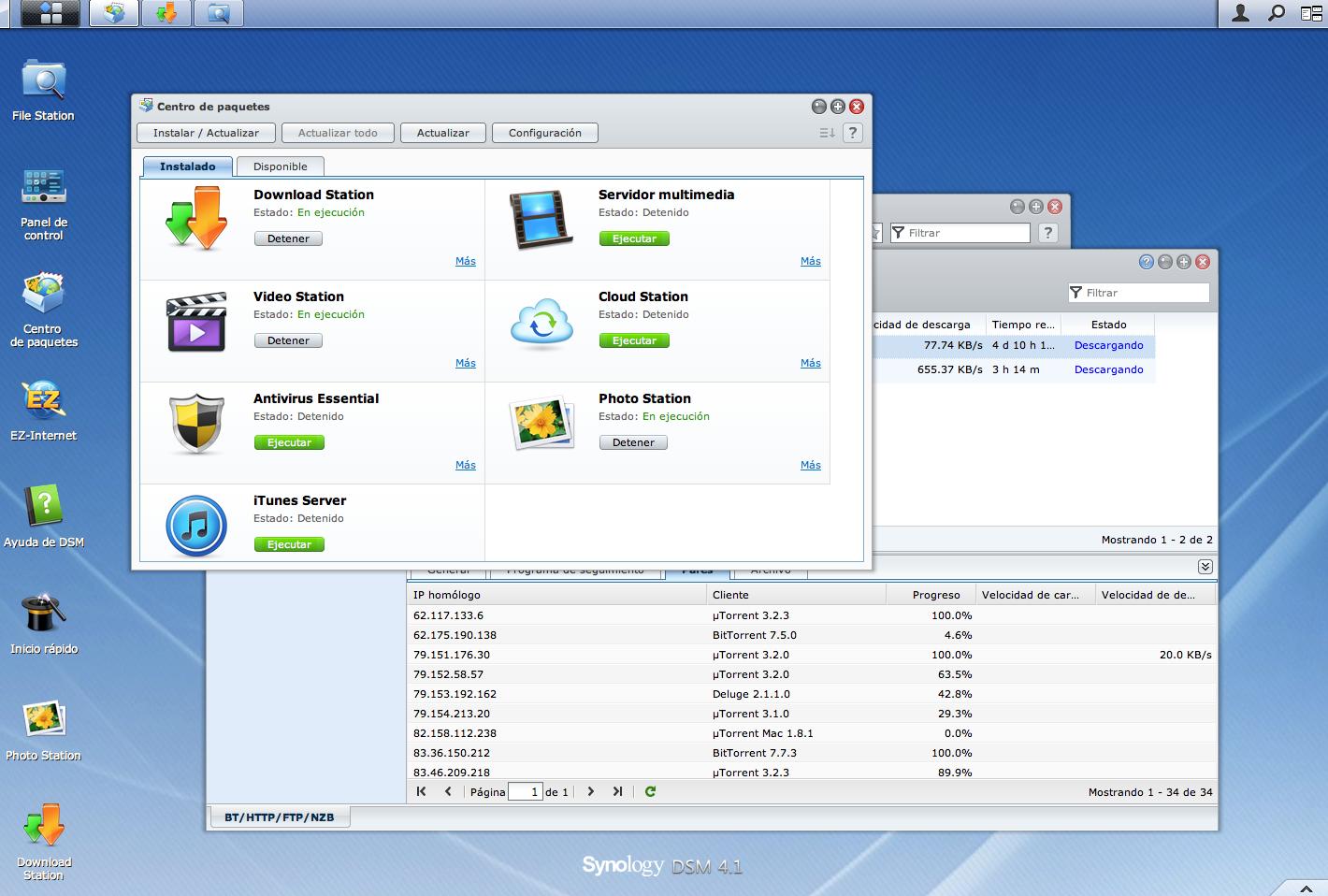 Análisis Synology DS112, NAS de entrada para el hogar Geek (II)