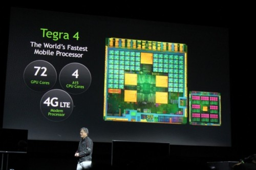 NVIDIA Tegra 4 debutó oficialmente en CES 2013
