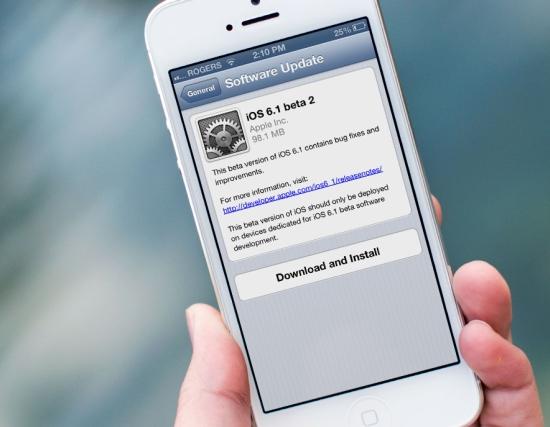 iOS 6.1 ya disponible y Jailbrake está en camino