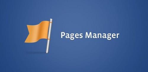 Facebook lanzó su Administrador de Páginas para Android