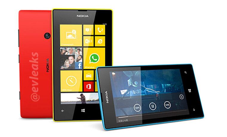 Filtrados los Nokia Lumia 720 y 520