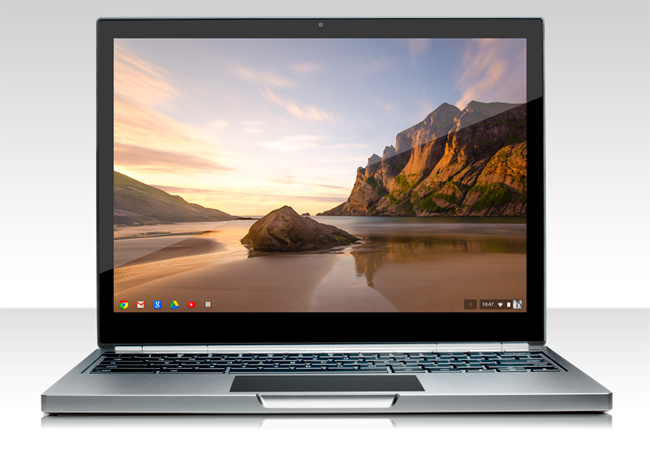 Chromebook Pixel, el nuevo ordenador de Google de impresionante pantalla.