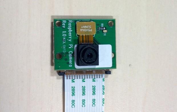 Raspberry Pi ya cuenta con una cámara como accesorio.
