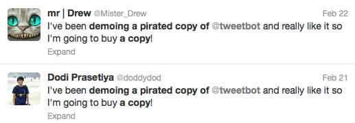 Tweetbot y su lucha frente a la piratería