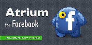 Atrium, cliente de Facebook para Android