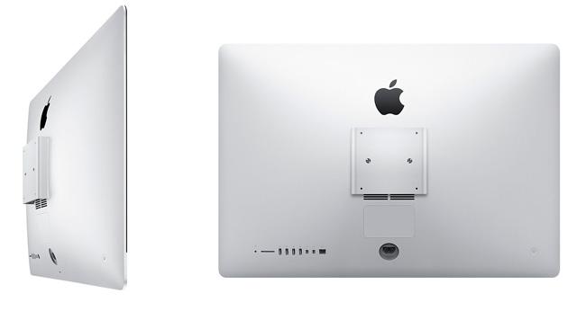 Apple ahora vende los iMac con soporte VESA