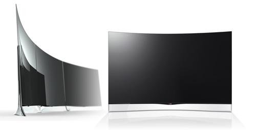 LG ya tiene planes para sus televisores curvos.