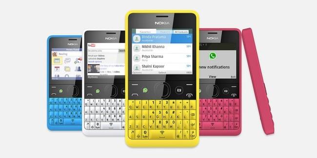 Nokia Asha 210, el misterioso teclado QUERTY sale a la luz.
