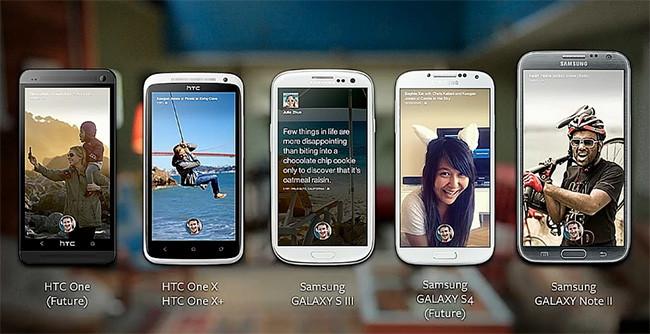 Facebook Home no es un teléfono, es una nueva piel para Android.